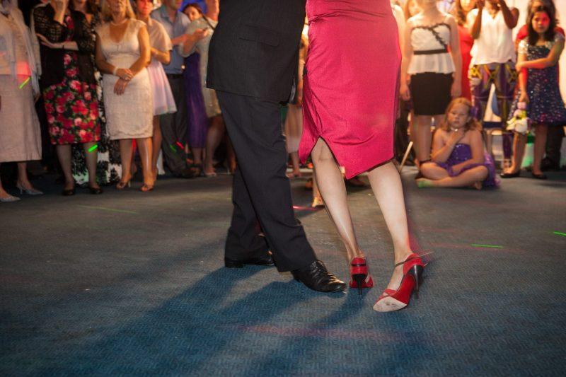wedding salsa dancing
