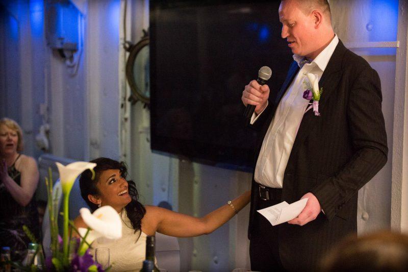 london groom speech