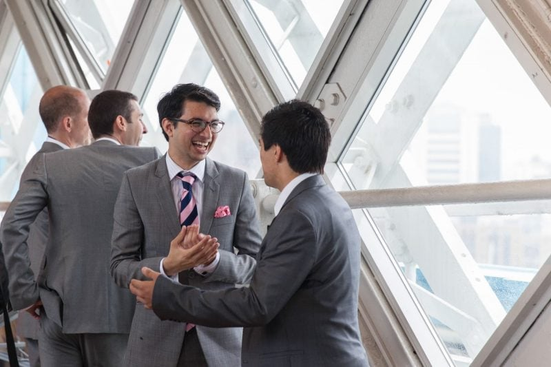 tower bridge wedding