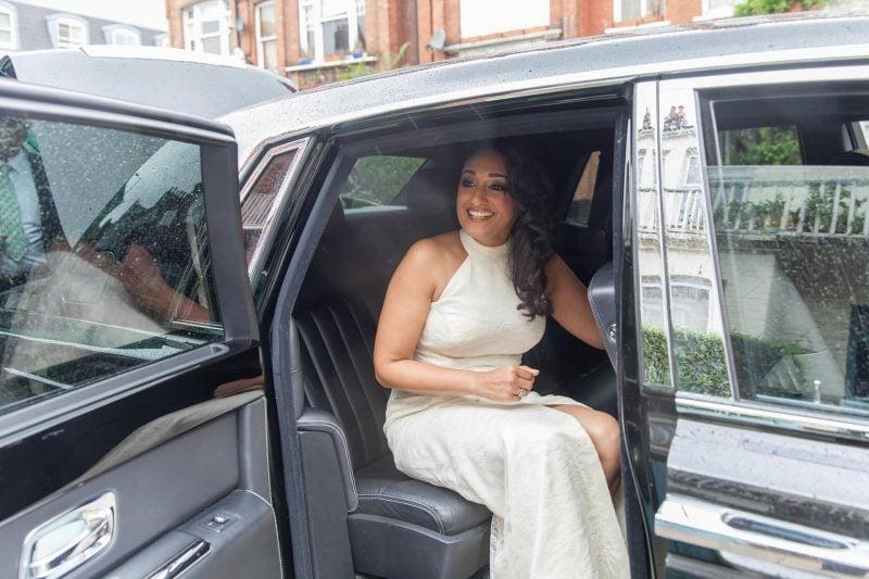 london bridal car
