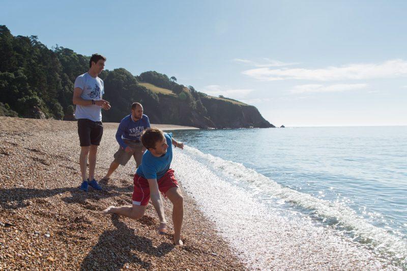 skimming stones beach
