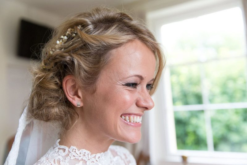 bride ready for her wedding