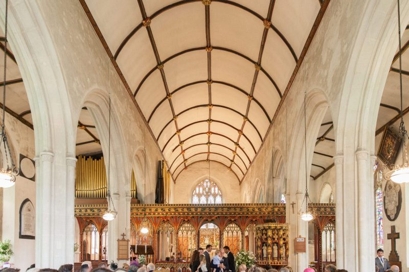 devon church wedding