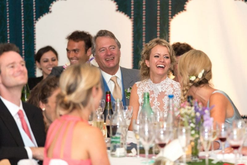 bride speech reactions