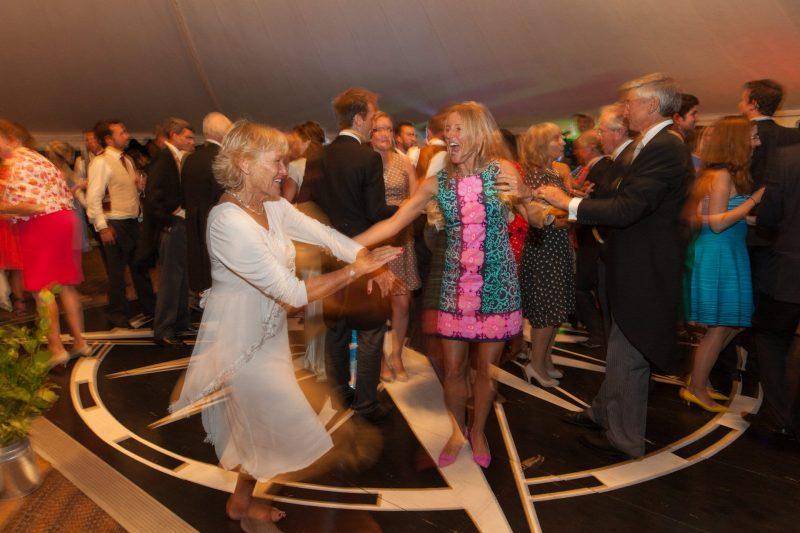 tipi wedding dancing