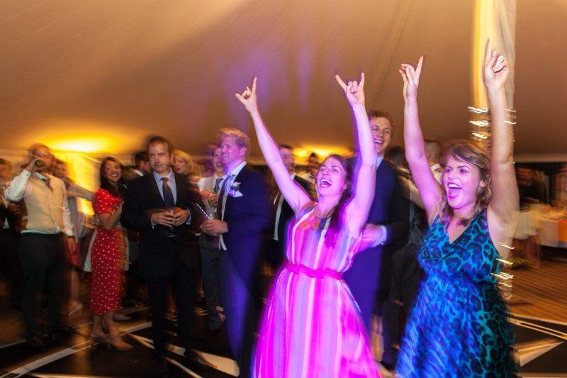 devon tipi wedding party