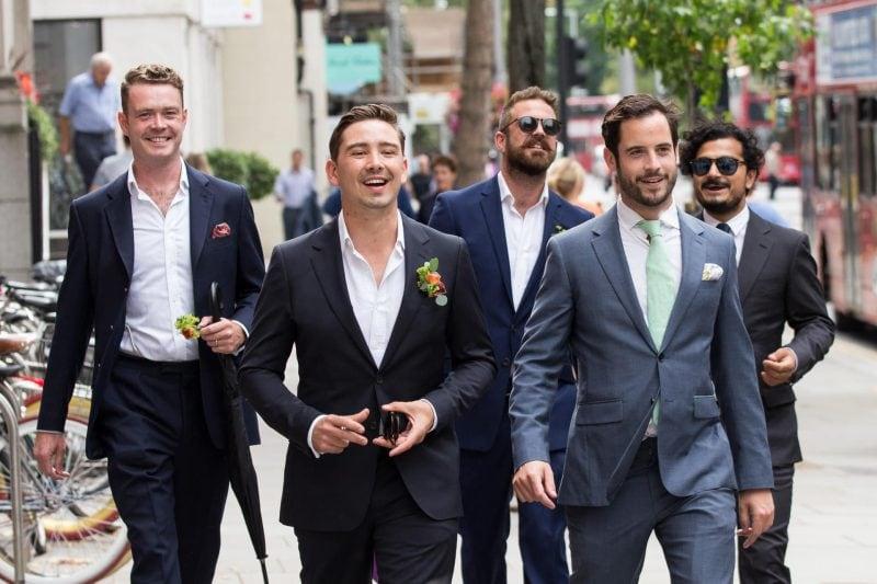london groom groomsmen