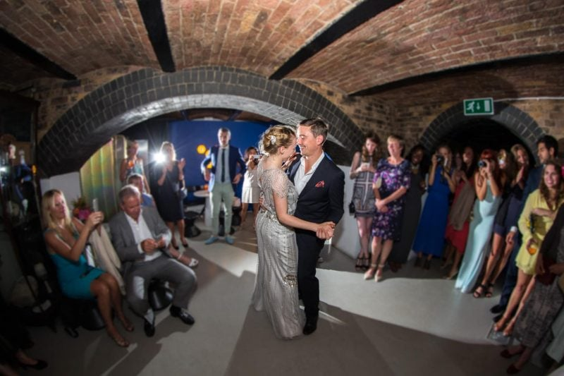 london wedding first dance