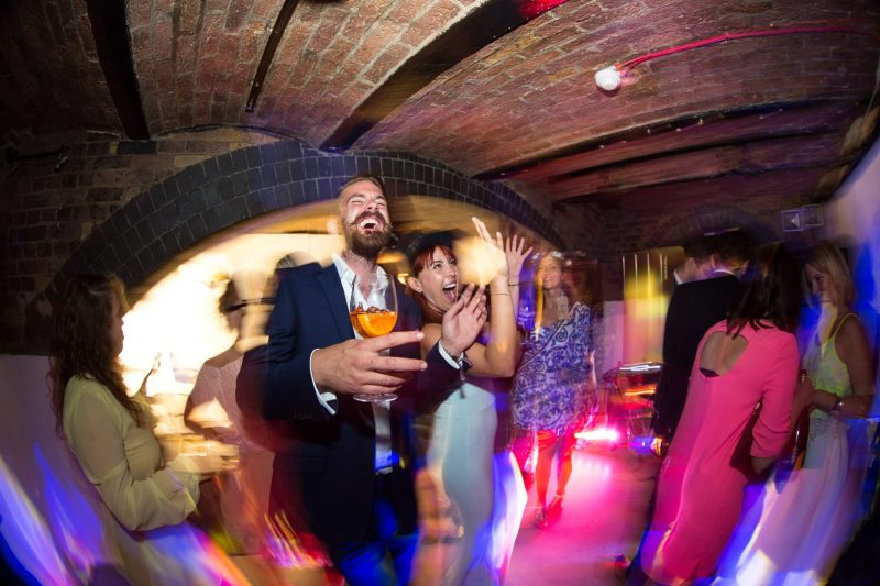 wedding fun underground