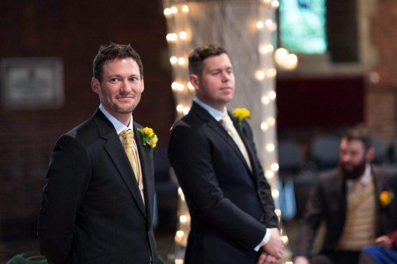 groom best man church wedding