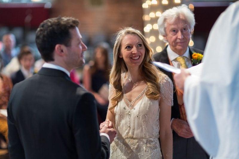 london church wedding ceremony