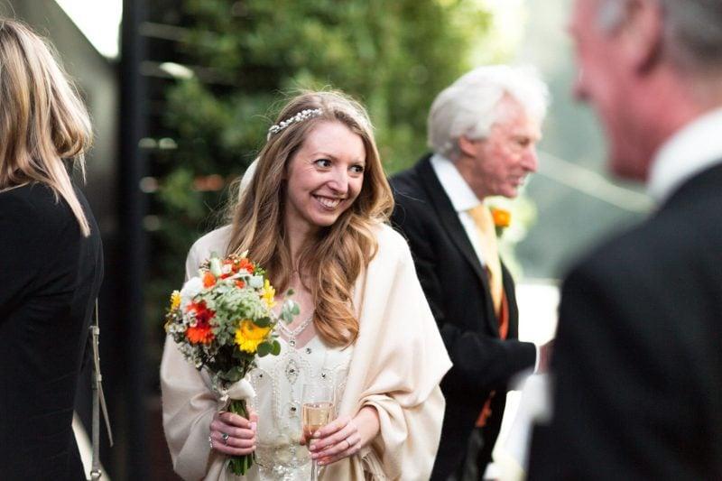 london bride arrival