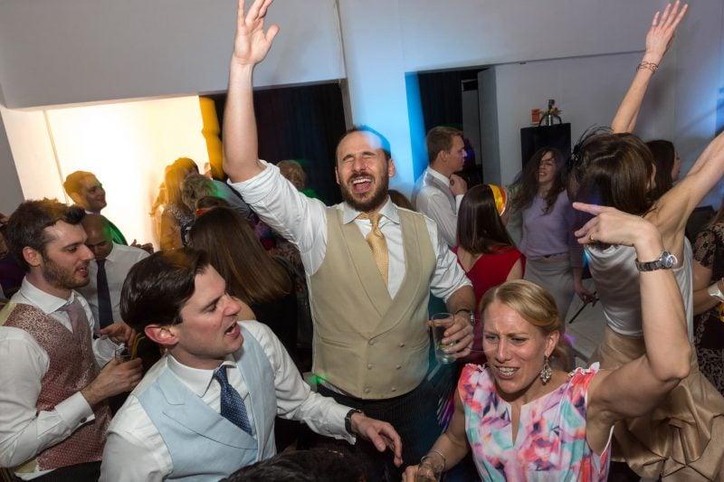 wild wedding dance party