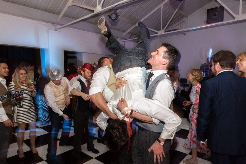 london crazy wedding dancefloor