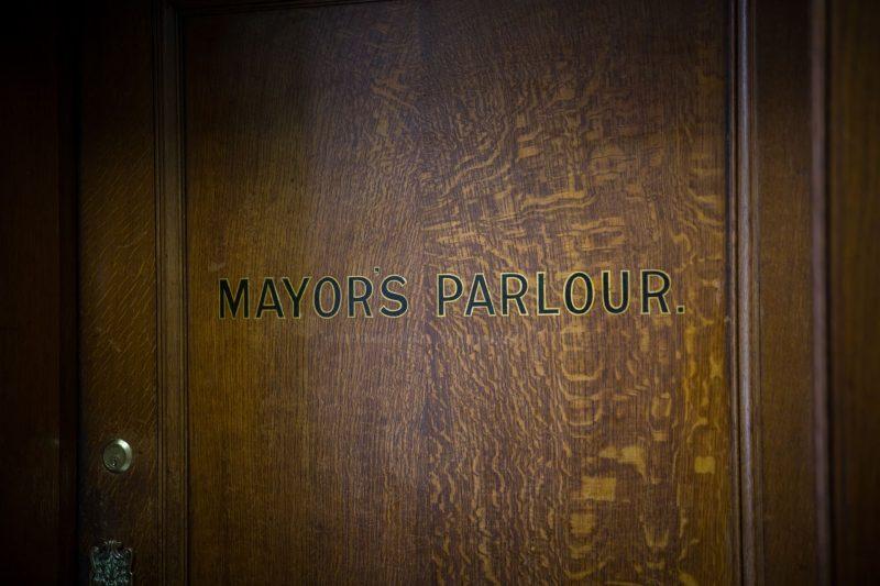 islington town hall mayor's parlour