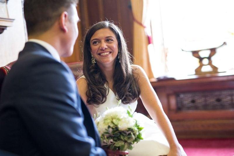 islington town hall civil wedding ceremony