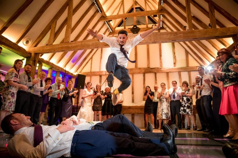 jewish wedding jumping photographer