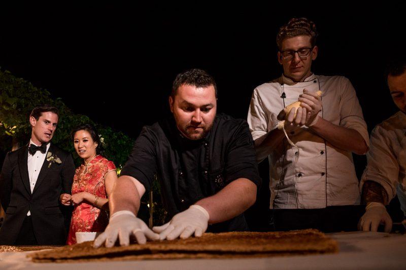 wedding chef tuscany