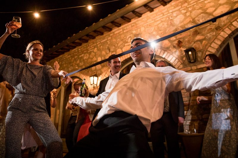 wedding limbo party