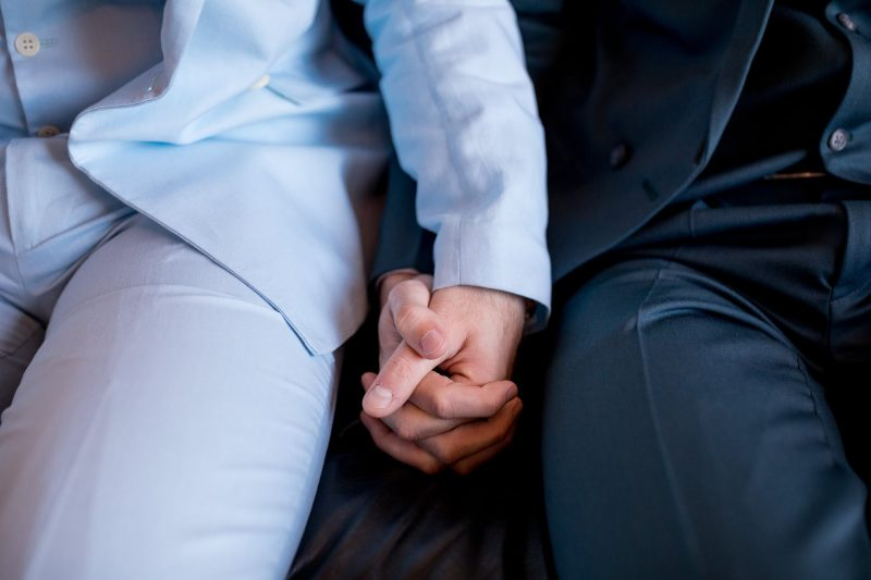 london same-sex wedding