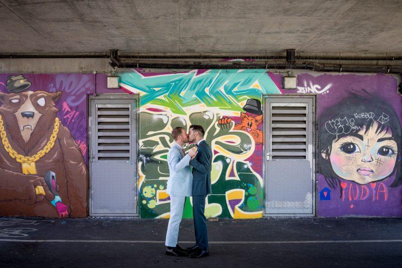 shoreditch same-sex wedding