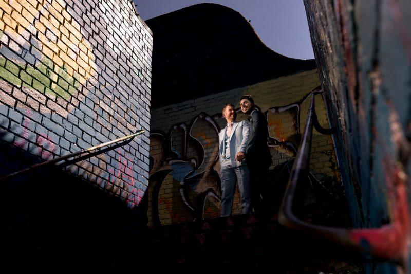 london same-sex wedding photographer