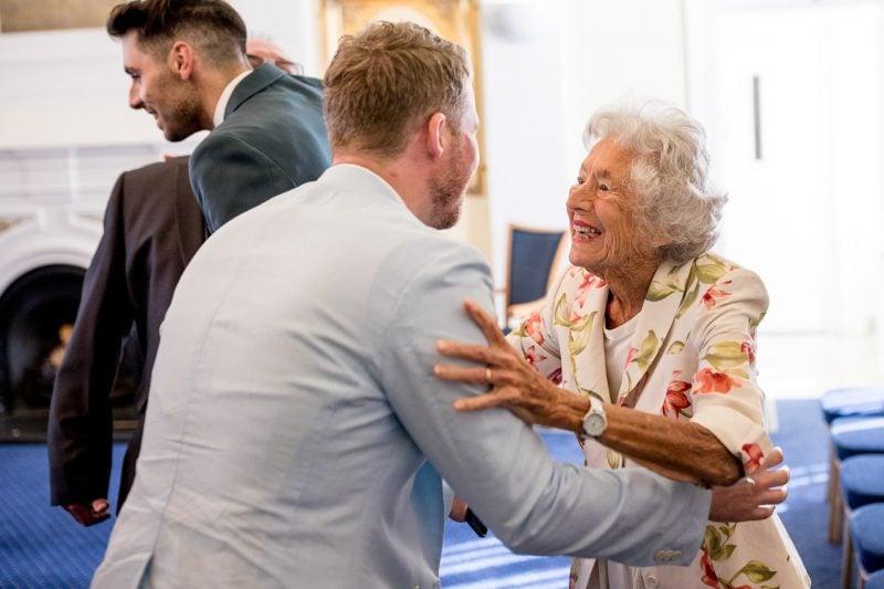 greeting grandman london wedding