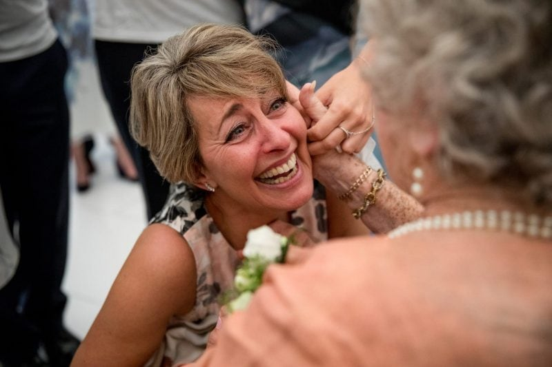 emotional mother of bride photographer