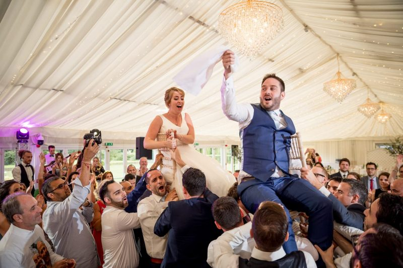 parklands quendon hall jewish wedding party