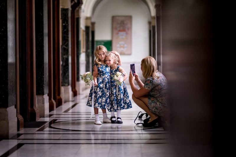 london wedding flower girls