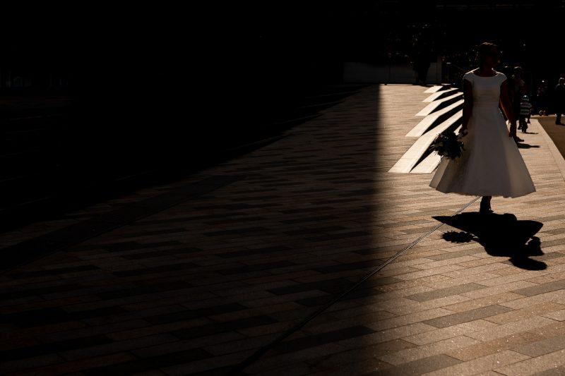 bride shadow photographer