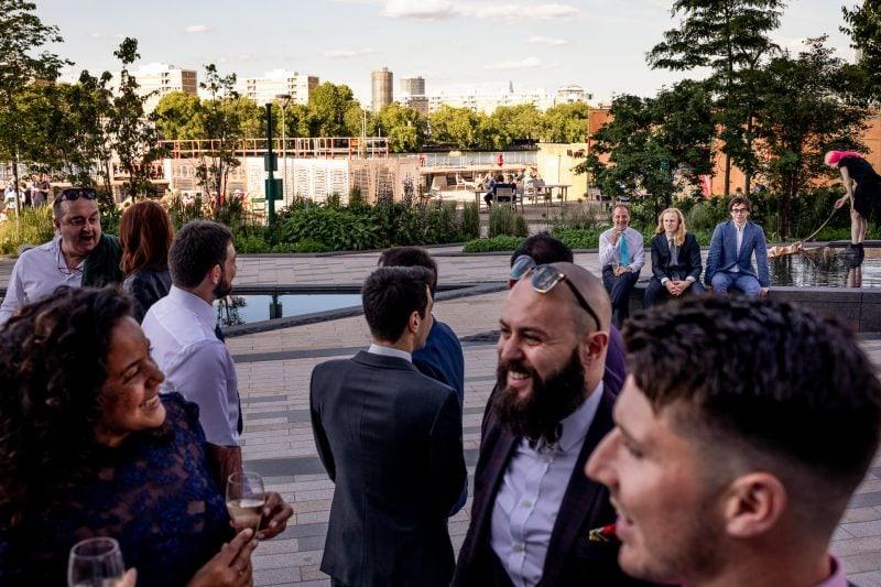 battersea wedding reception