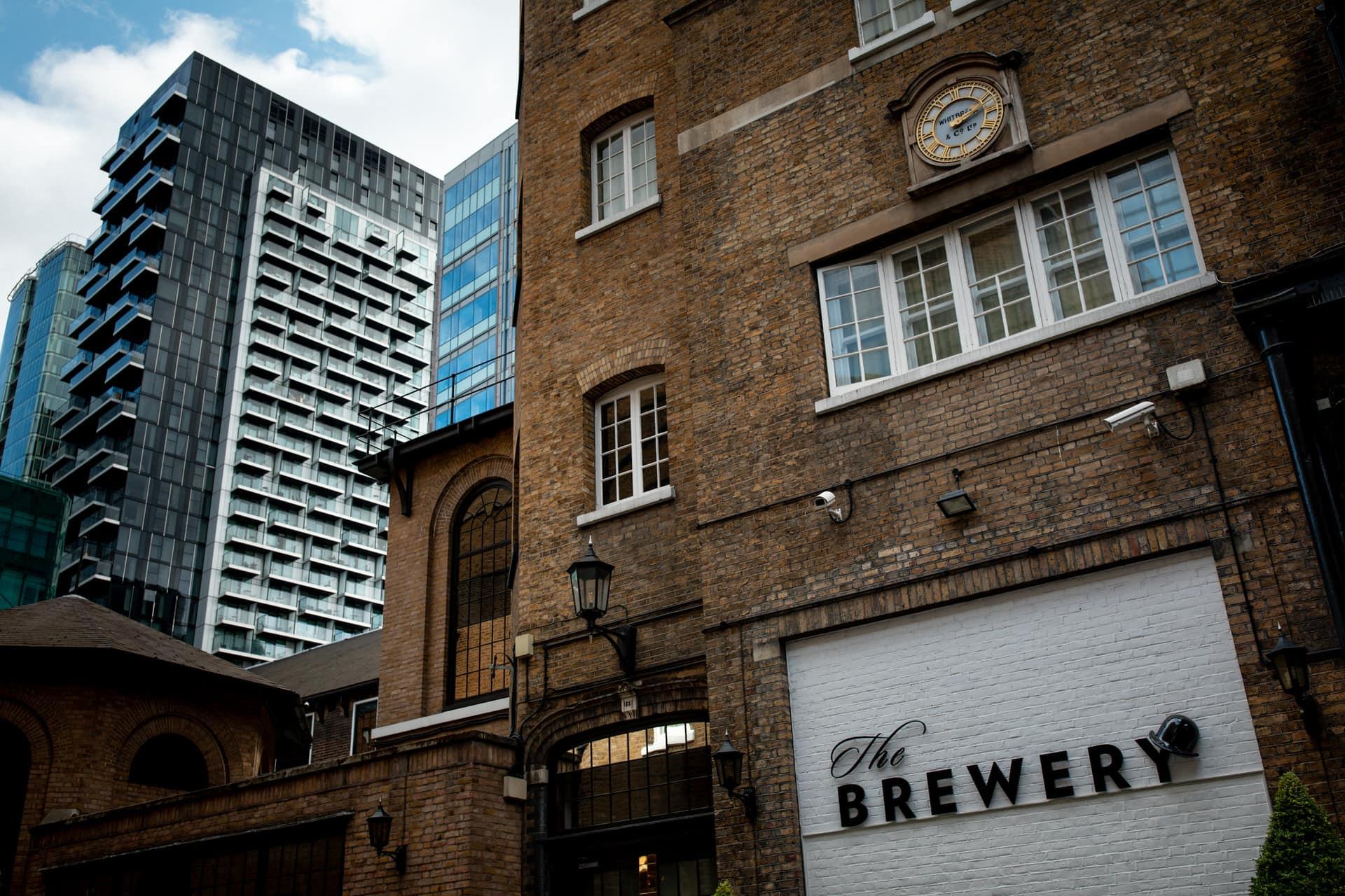 london brewery wedding photographer