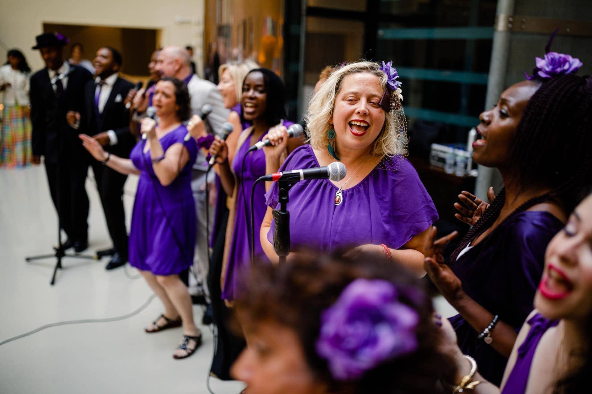 london wedding choir