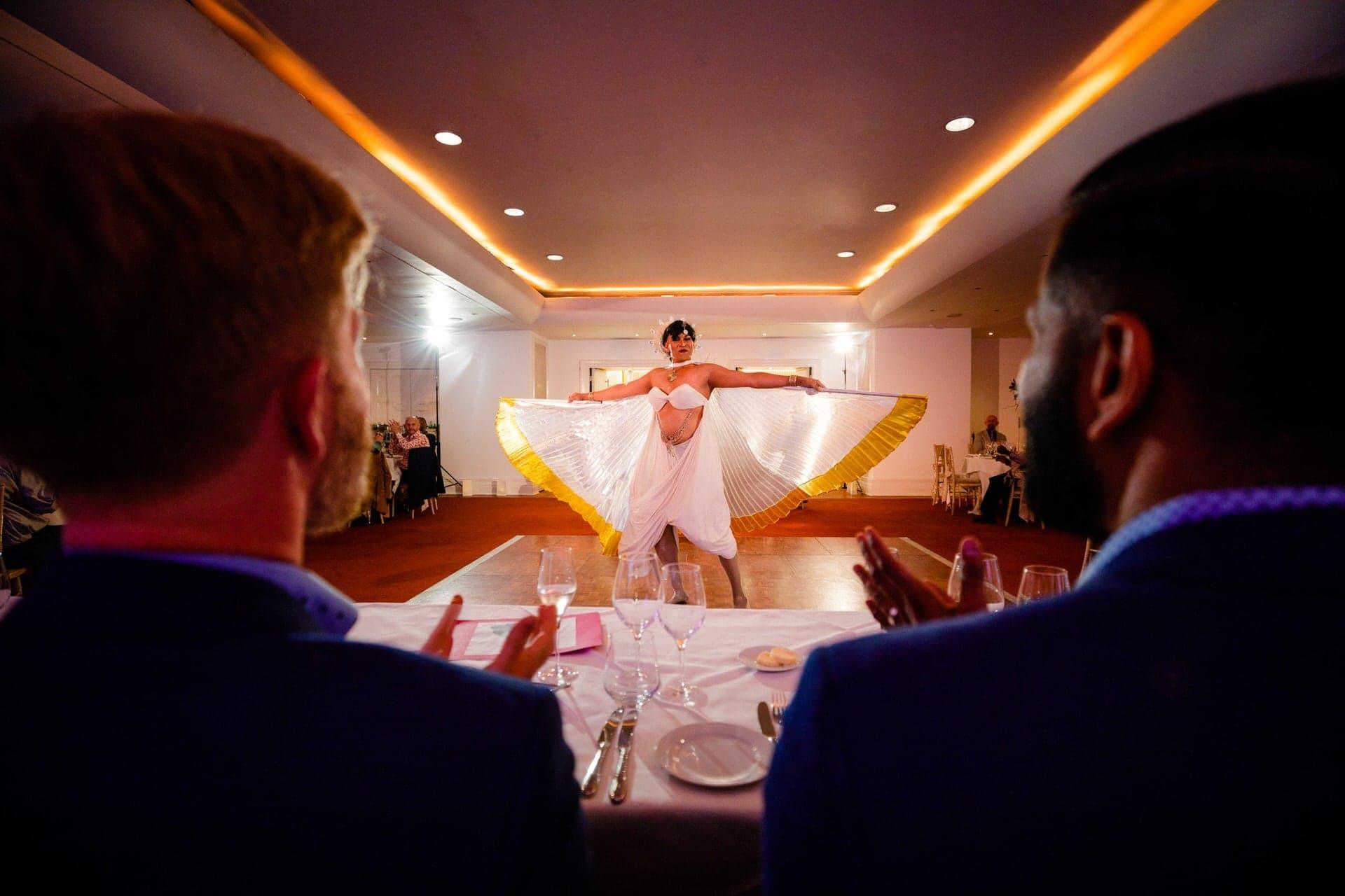 transvestite wedding entertainment