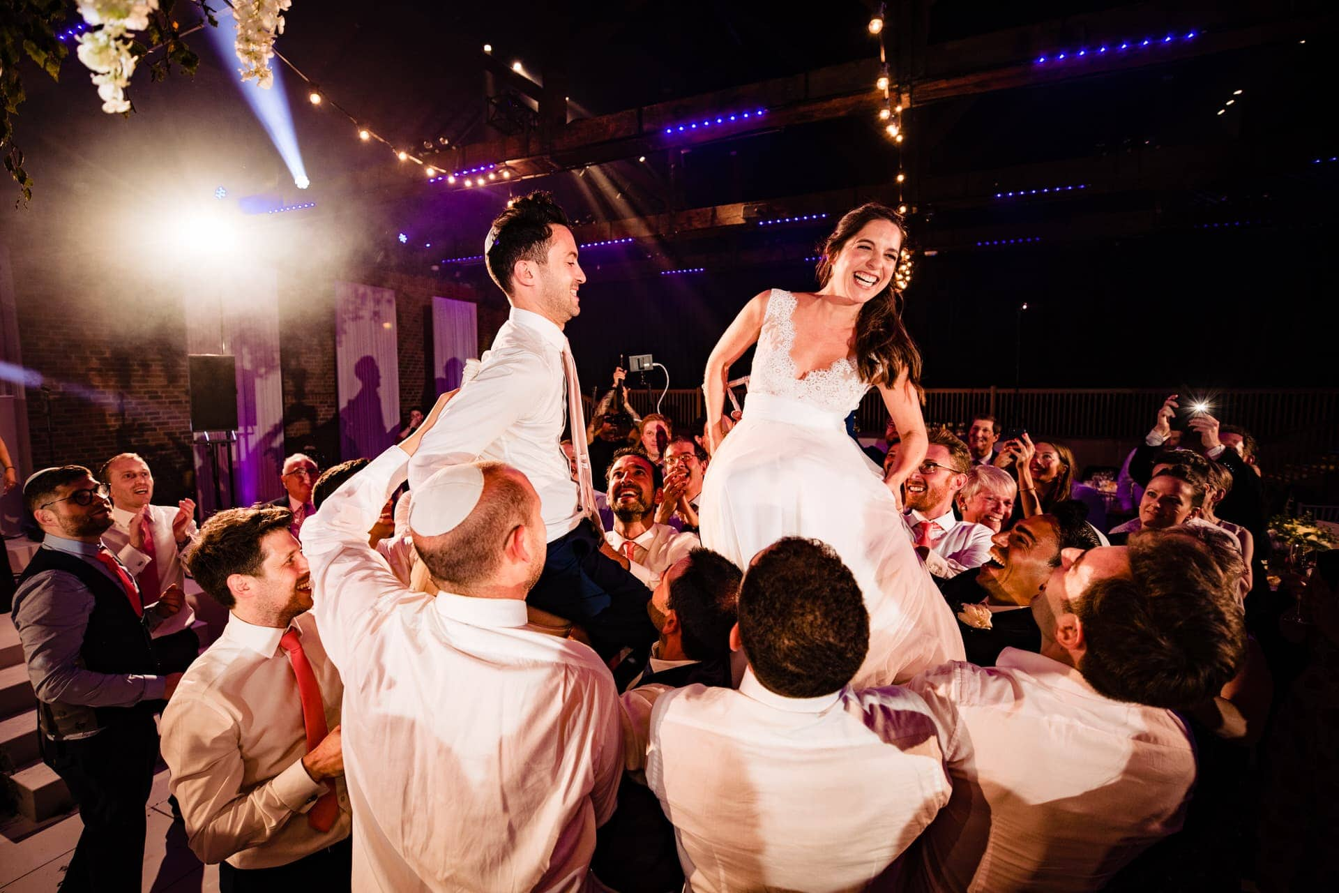 jewish wedding chairs photographer