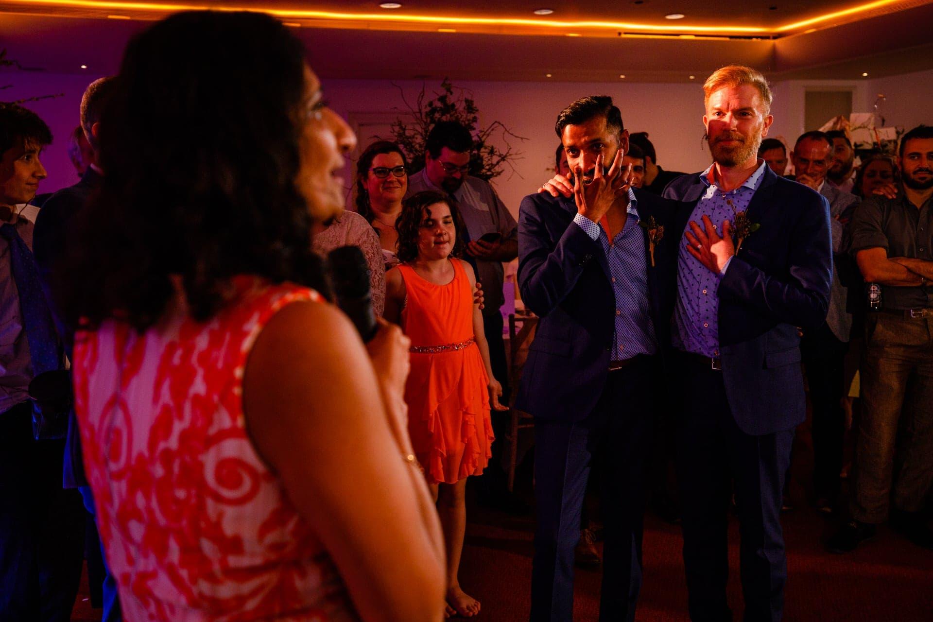 same-sex london wedding speeches