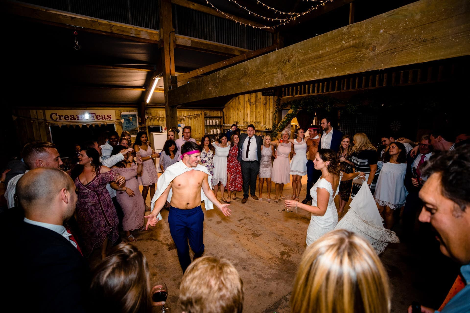 last dance barn wedding