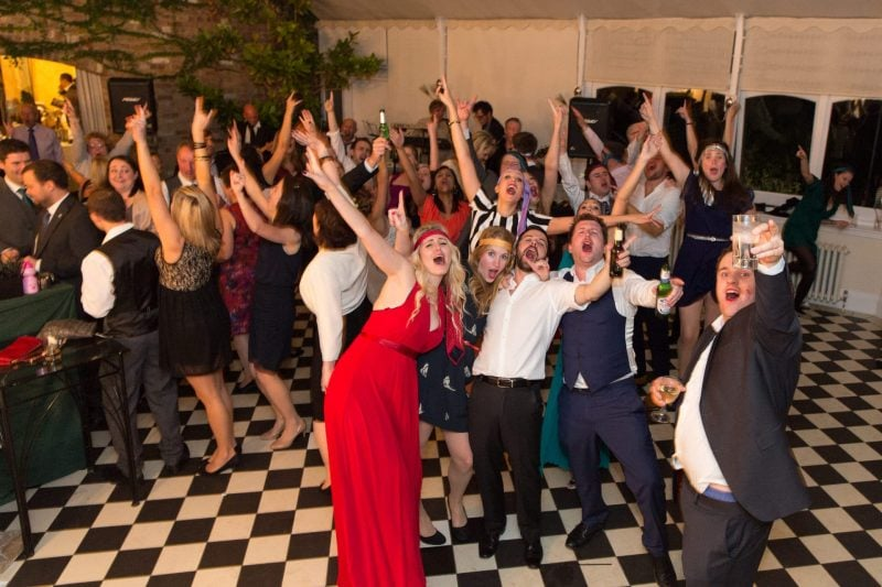 wedding party singalong