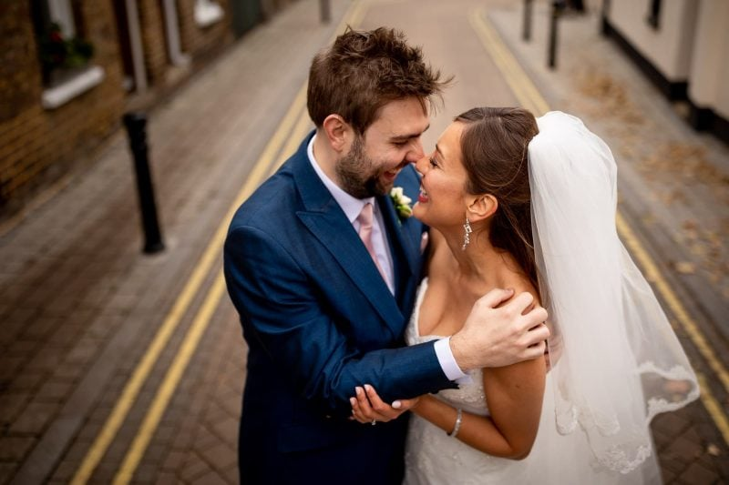 Bride & Groom Wedding Photographer London