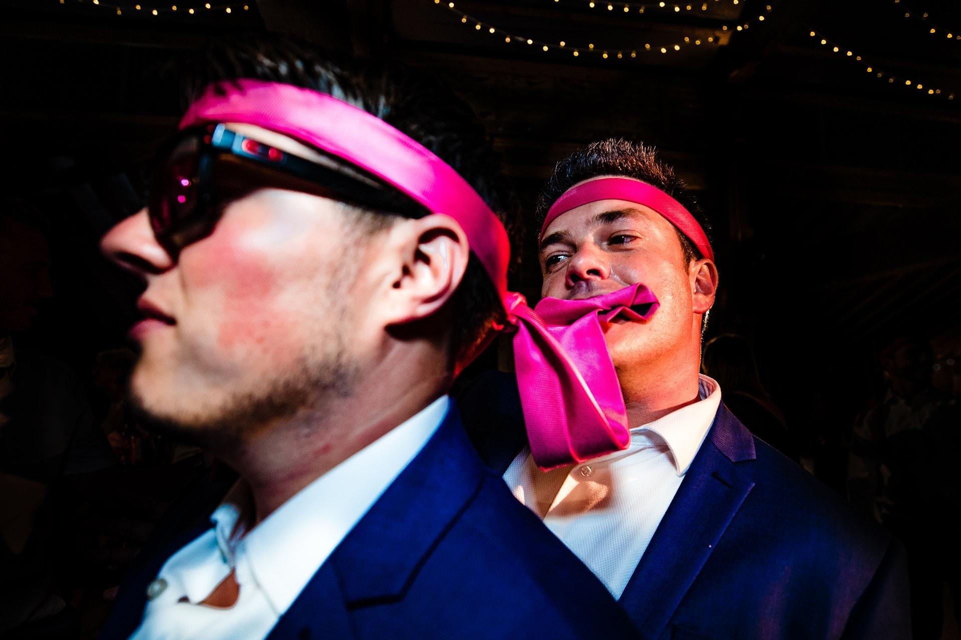 pink tie dance brothers