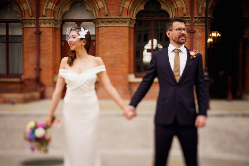 london st pancras renaissance wedding photos