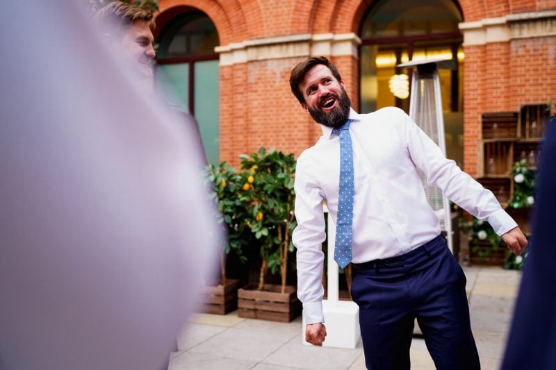 london hotel wedding photographer